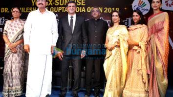 Deepika Padukone graces the inauguration ceremony of Yonex Sunrise India Open 2018 in New Delhi
