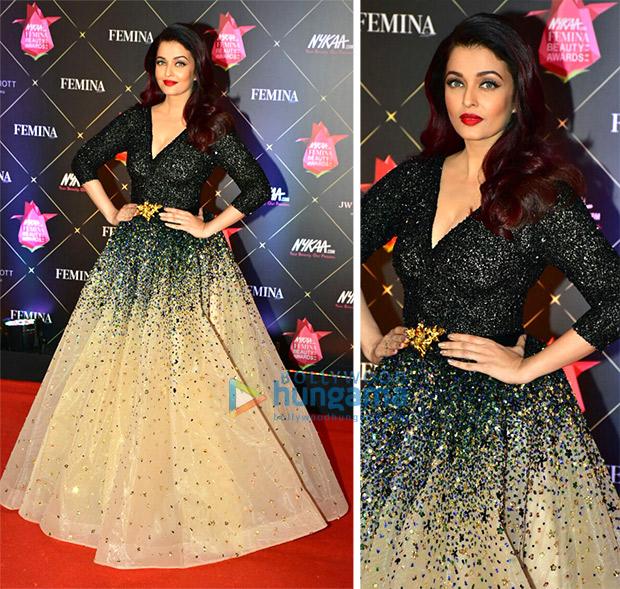 Nykaa.com Femina Beauty Awards 2018 Best Dressed: Aishwarya Rai Bachchan, Aditi Rao Hydari, Malaika Arora, Kriti Kharbanda, Pooja Hegde made heads turn!