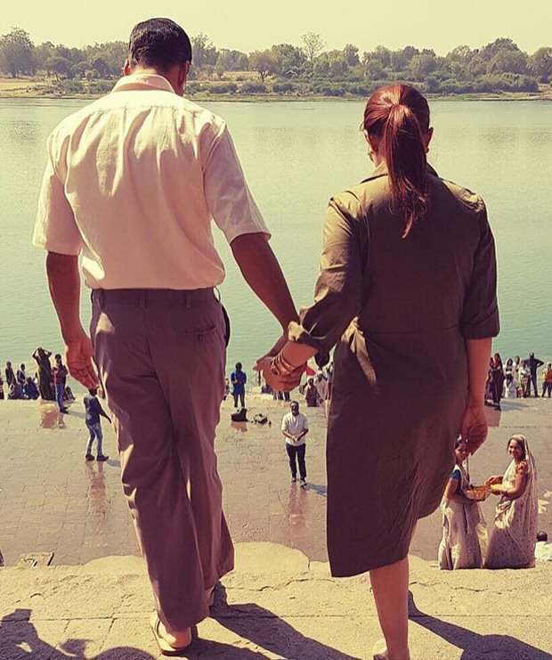 #MondayMorningMotivation: 10 Pics that prove Pad Man Akshay Kumar is an ultimate family man!