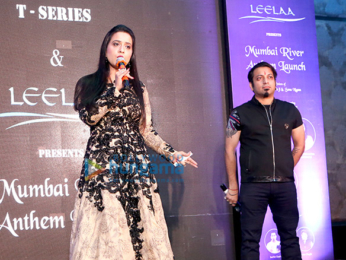 Amruta Fadnavis launches Mumbai River Anthem