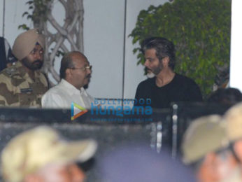 Anil Kapoor reaches Mumbai airport to receive Sridevi's mortal remains