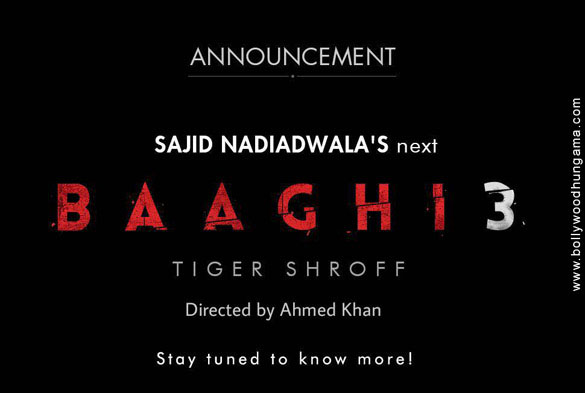 BREAKING: After Baaghi 2, Tiger Shroff all set to star in Baaghi 3