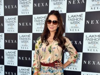 Celebs grace the red carpet of Lakme Fashion Week 2018
