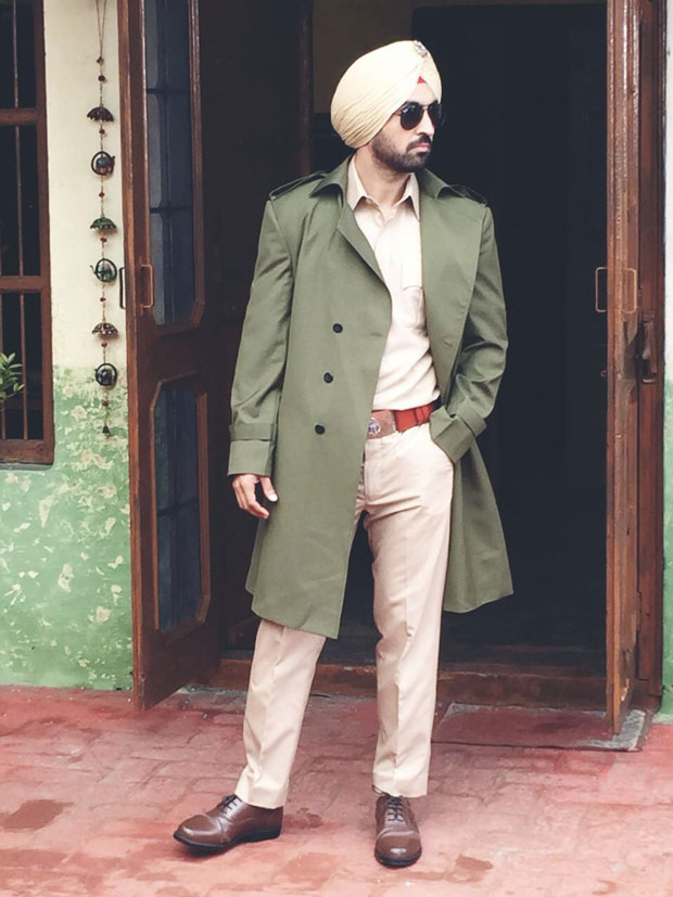 FIRST LOOK: Diljit Dosanjh fans are in for a treat with his latest cop avatar in Dinesh Vijan's Arjun Patiala