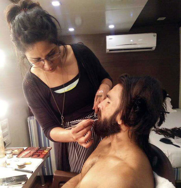 Here's how Ranveer Singh transformed into Alauddin Khilji and it is intense