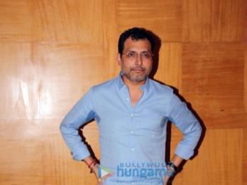 Neeraj Pandey and Naseeruddin Shah promote Aiyaary at Sun & Sand, Juhu