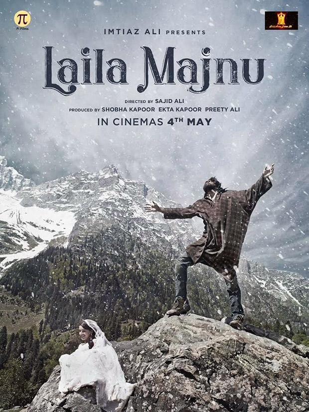 On Valentine's Day, Ekta Kapoor and Imtiaz Ali come together for a modern take on Laila Majnu