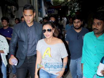 Rani Mukherji snapped at Cockoo Club in Bandra