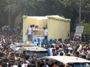 Sridevi's mortal remains leave Celebration Sports Club