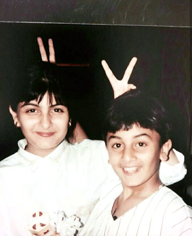 THROWBACK THURSDAY: Ranbir Kapoor and Riddhima Kapoor look absolutely adorable in this goofy picture