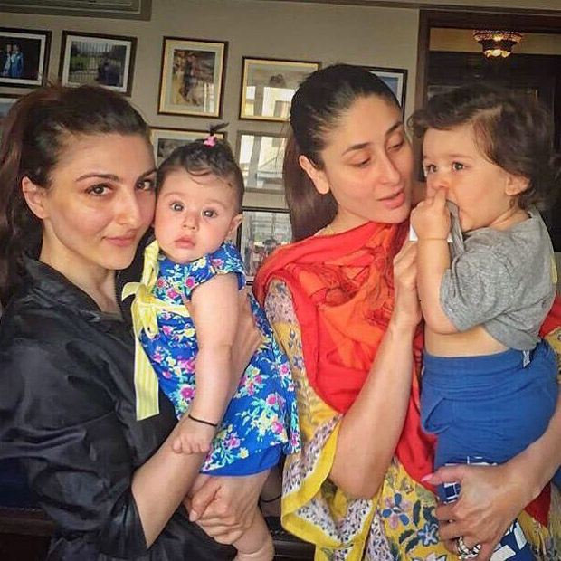 CUTENESS OVERLOAD! Taimur Ali Khan and Inaaya Naumi Kemmu pose together and it is beyond adorable