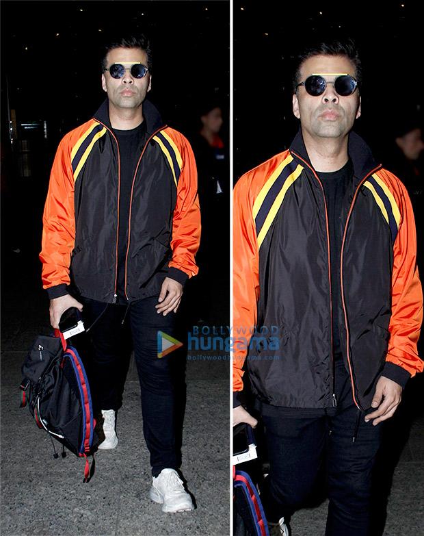 Weekly Airport Style: Karan Johar