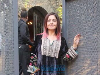 Mukesh Bhatt's daughter Shakshi Bhatt's engagement at Bandra Union Park