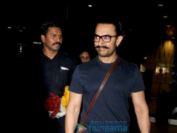 Aamir Khan returns from Jodhpur and Kiran Rao comes to receive him