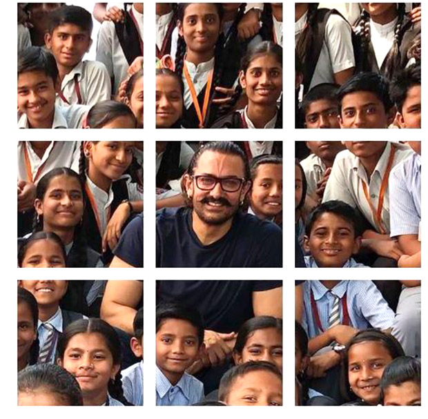 Aamir Khan's latest Instagram post with several kids will bring a smile to your face!