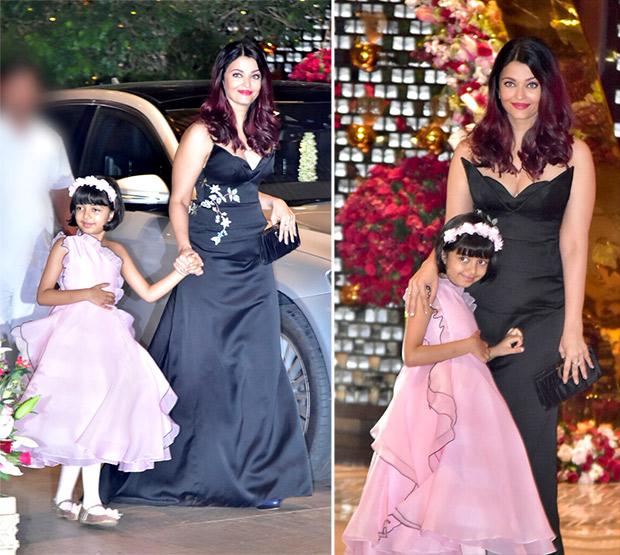 Akash Ambani-Shloka Mehta engagement bash: Aishwarya Rai Bachchan with daughter Aaradhya