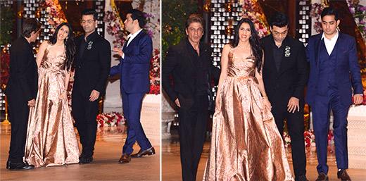 Akash Ambani-Shloka Mehta engagement bash: Shah Rukh Khan