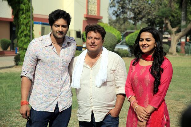ON THE SETS: Ali Fazal and South actress Shraddha Srinath kick off Milan Talkies in Lucknow