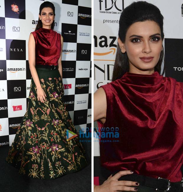 Amazon India Fashion Week Autumn Winter 2018: Diana Penty for Shamal and Bhumika