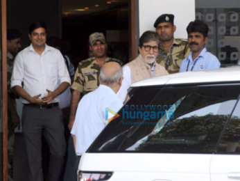 Amitabh Bachchan snapped returning from Jodhpur