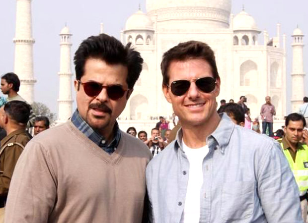 Anil Kapoor reunites with Mission Impossible: Ghost Protocol co-star Tom Cruise in Abu Dhabi