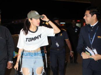 Anushka Sharma spotted at the airport