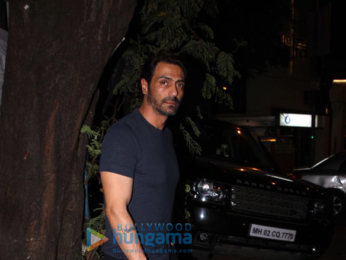 Arjun Rampal spotted at The Korner House