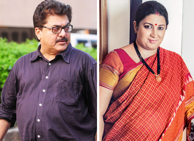 Ashok Pandit lashes out at Smriti Irani