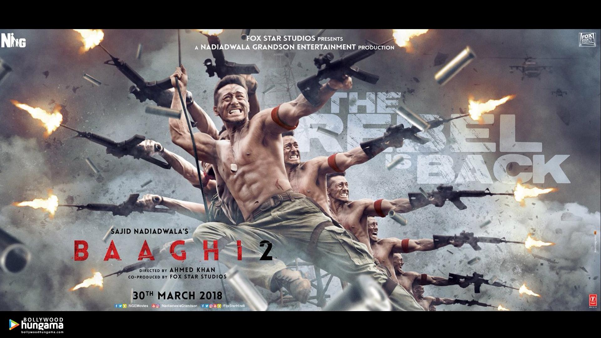 Baaghi 2 2018 Wallpapers Baaghi 2 17 Bollywood Hungama