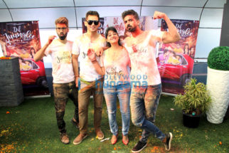 Dil Juunglee star cast celebrate Holi
