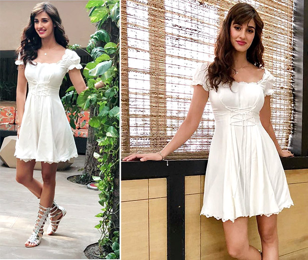 Disha Patani for Baaghi 2 promotions in Swapnil Shinde