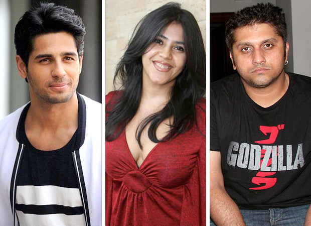 EK VILLAIN team Sidharth Malhotra, Ekta Kapoor and Mohit Suri reunite for a film and here are the details