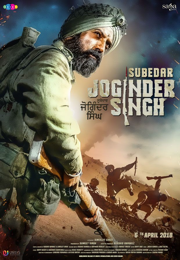 Gripping first poster of Subedar Joginder Singh sets the internet on FIRE