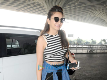 Gurmeet Choudhary, Debina Bonnerjee and others snapped at the airport