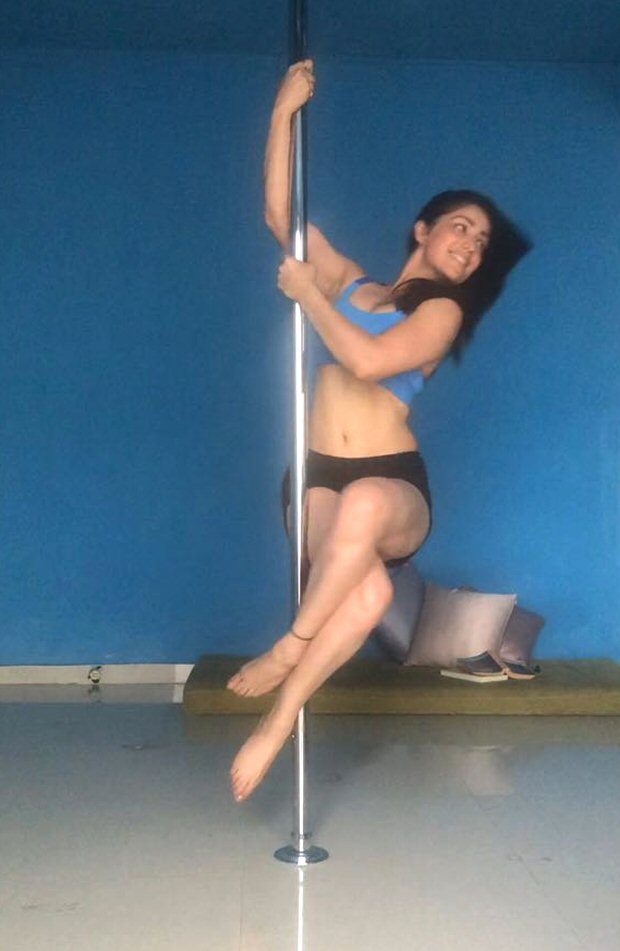 HOT! Yami Gautam performs this sexy pole dance and it has left us impressed!
