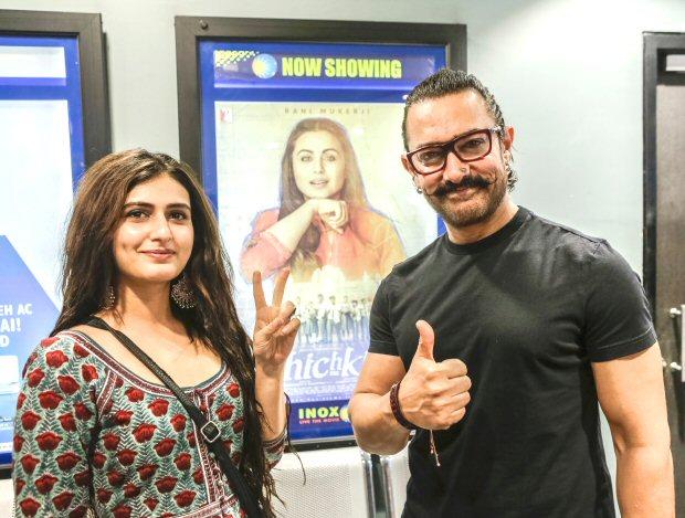 Here's what Aamir Khan though after watching Rani Mukheri's Hichki in Jodhpur