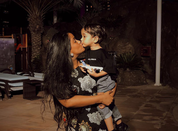 INSIDE PICS & VIDEOS: Salman Khan celebrates Arpita Khan- Aayush Sharma's son Ahil Sharma's 2nd birthday in Abu Dhabi