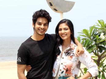 Ishaan Khatter and Malavika Mohanan snapped at Sun N Sand Hotel in Juhu