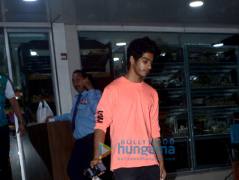 Ishaan Khatter snapped in Juhu