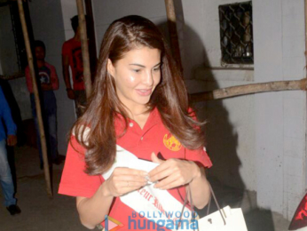 Jacqueline Fernandez snapped at Kromakay in Juhu