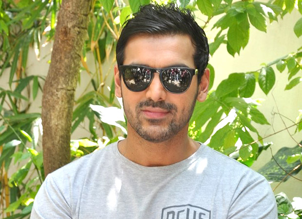 John Abraham enjoys a fun massage on the sets of Milap Zaveri's next and here's what he has to say