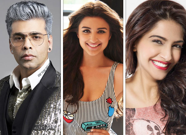 Karan Johar is shattered; but Parineeti Chopra, Sonam Kapoor and others can't stop laughing