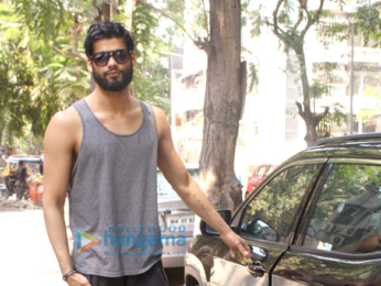 Karan Kapadia snapped outside a gym in Juhu