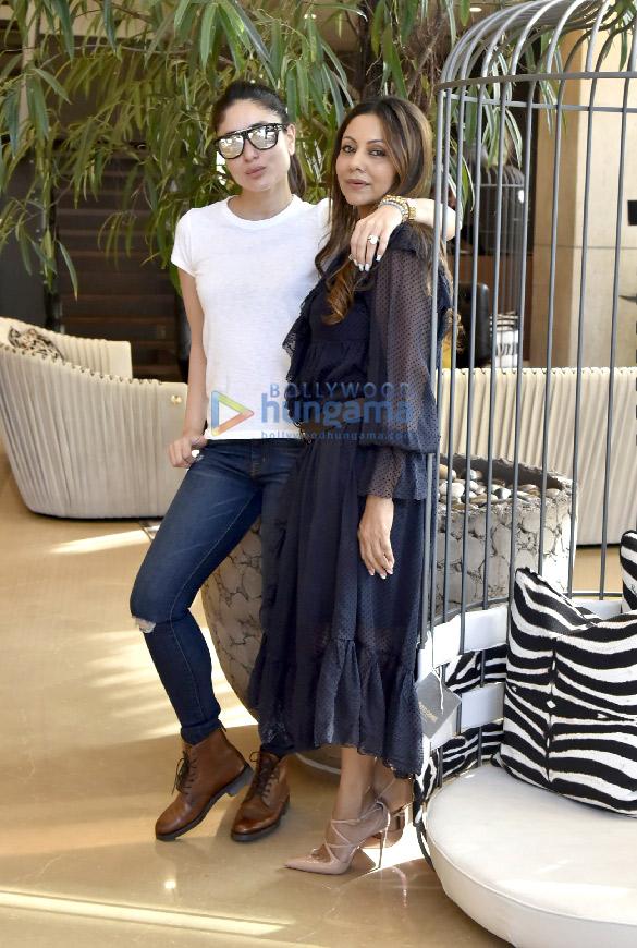 Kareena Kapoor Khan snapped at Gauri Khan's design store