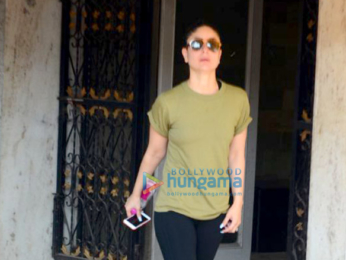 Kareena Kapoor Khan spotted after her gym session in Bandra