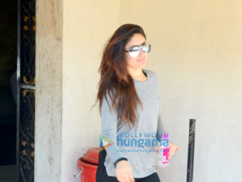Kareena Kapoor Khan spotted at the gym in Bandra