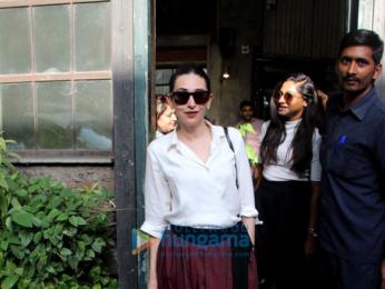 Karisma Kapoor spotted at Pali Village Cafe in Bandra