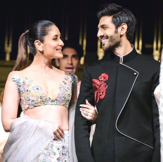 Kartik Aaryan makes Kareena Kapoor BLUSH hard