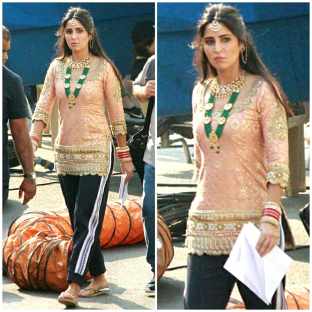 Katrina Kaif flaunts her traditional look; Shah Rukh Khan caught in a candid moment on Zero set