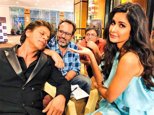 Katrina Kaif turns media manager for Shah Rukh Khan on Zero sets